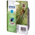 Картридж струйный Epson T0822 (C13T11224A10) для аппаратов Epson Stylus Photo R270/290/RX590, синий