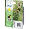 Картридж струйный Epson T0824 (C13T11244A10) для аппаратов Epson Stylus Photo R270/290/RX590, желтый