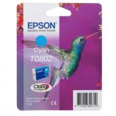 Картридж струйный Epson T0802 (C13T08024011) для аппаратов Epson P50/PX660/PX720WD, синий