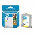 Картридж струйный HP C4817A №13 для аппаратов OfficeJet 9110/9120/9130/Business InkJet 1000/2000, желтый