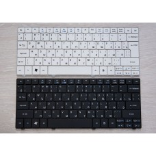 Клавиатура для ноутбука Acer Aspire One 751 751H AO751 AO751H 721 752 752H 753 753H ZA3 ZA5 RU Black