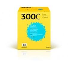 Картридж T2 аналог Samsung CLP-300С для аппаратов Samsung CLP-300/300N/CLX-2160/2160N/2161K/2161NK/3160N/3160FN (1000 стр.), синий
