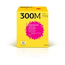 Картридж T2 аналог Samsung CLP-300M для аппаратов Samsung CLP-300/300N/CLX-2160/2160N/2161K/2161NK/3160N/3160FN (1000 стр.), красный