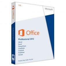 Microsoft Office Профессиональный 2013 русская коробка