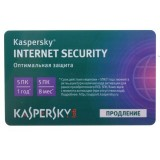 Карта продления подписки Kaspersky Internet Security Multi-Device для всех устройств –на 1 год 5 ПК card