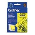 Картридж струйный Brother LC1000Y для аппаратов Brother MFC-240C/5460CN/885CW/DCP350, желтый