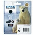 Картридж струйный Epson 26 (C13T26014010) для аппаратов  XP600/700/800, черный