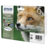 Набор картриджей EPSON T1285 (CMYK) для S22/SX125 (4 цвета)