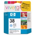 Картридж струйный HP C9418A  №38 для аппаратов HP Photosmart Pro B9180, светло-голубой