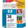 Картридж струйный HP C9419A  №38 для аппаратов HP Photosmart Pro B9180, светло-пурпурный