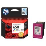 Картридж струйный HP CZ102AE №650 для аппаратов HP Deskjet Ink Advantage 2515 и 2515 e-All-in-One, многоцветный