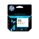 Картридж струйный HP CZ132A №711 для аппаратов HP Designjet T120/T520, желтый