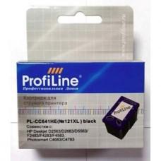 Картридж струйный ProfiLine аналог HP CC644HE №121XL для аппаратов HP D1663/D2500/D2663/D5563/F4213/F2493/F4275/F4283/F4583/C4683/C4783, цветной
