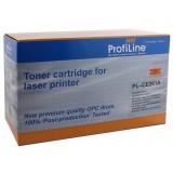 Картридж ProfiLine аналог HP CE261A  для аппаратов HP LJ CP4525DN/CP4525N/CP4525XH (11000 стр.), голубой