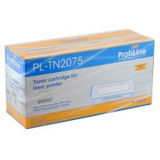 Картридж ProfiLine аналог Brother TN-2075 для аппаратов Brother HL-2030R/2040R/2070NR/DCP-7010R/7025R (2500 стр.)