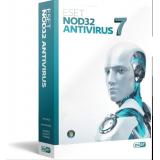 Коробка ESET NOD32 Антивирус (лицензия на 3 ПК на 1 год или продление на 20 месяцев) BOX