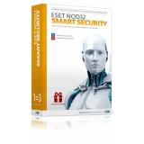 Коробка ESET NOD32 Smart Security (лицензия на 3 ПК на 1 год или продление на 20 месяцев) BOX