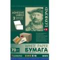 Самоклеящаяся бумага LOMOND универсальная для этикеток, A4, 2 делен. (210 x 148.5 мм), 70 г/м2, 50 л