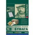 Самоклеящаяся бумага LOMOND универсальная для этикеток, A4, 64 делен. (48.5 x 16.9 мм), 70 г/м2, 50 листов.